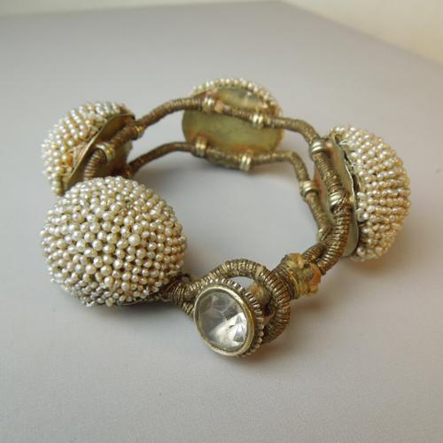 (Italiano) Bracciale perle naturali