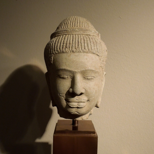 Khmer head